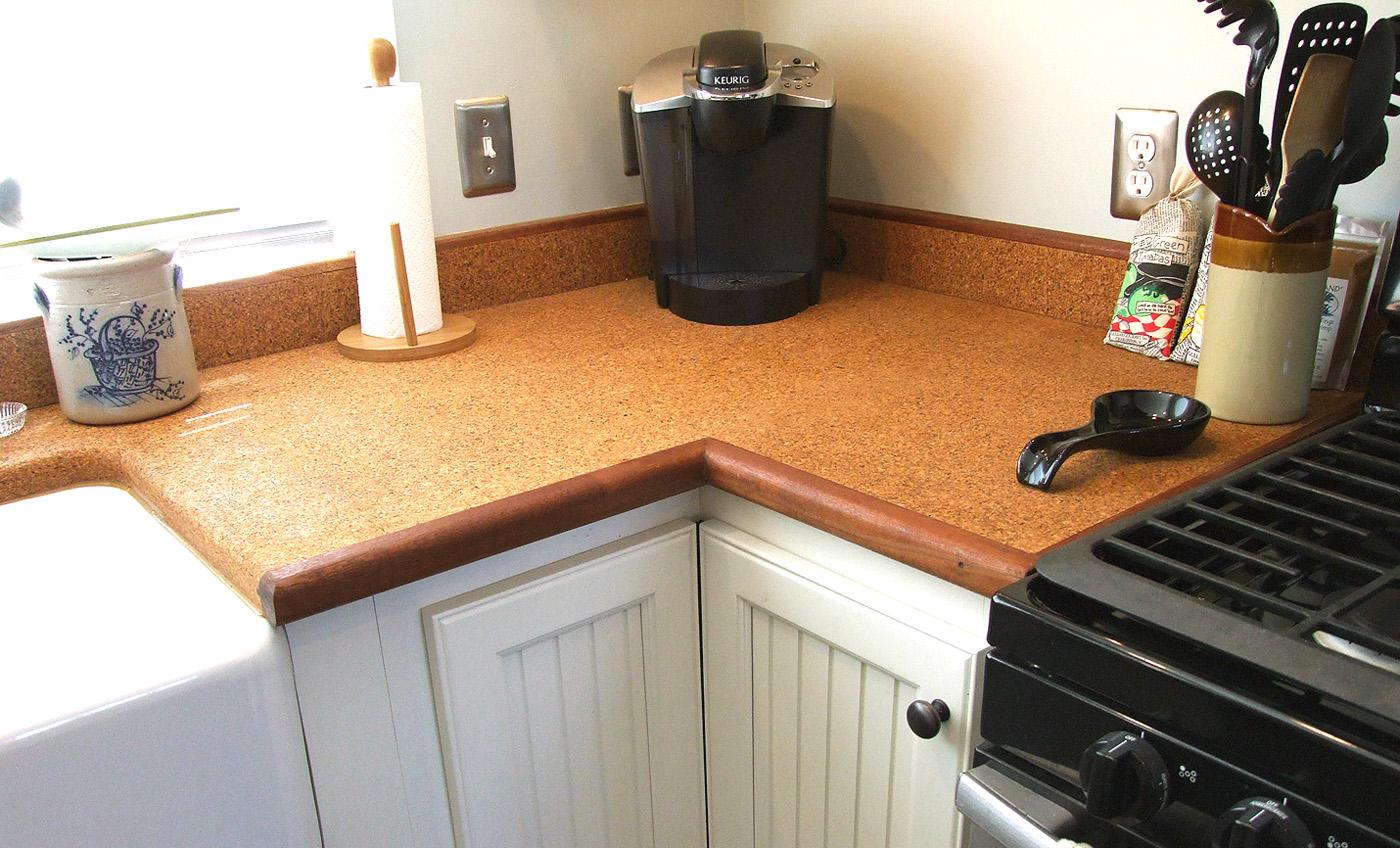 Cork Countertop gallery - suberra™ ultra high density cork material